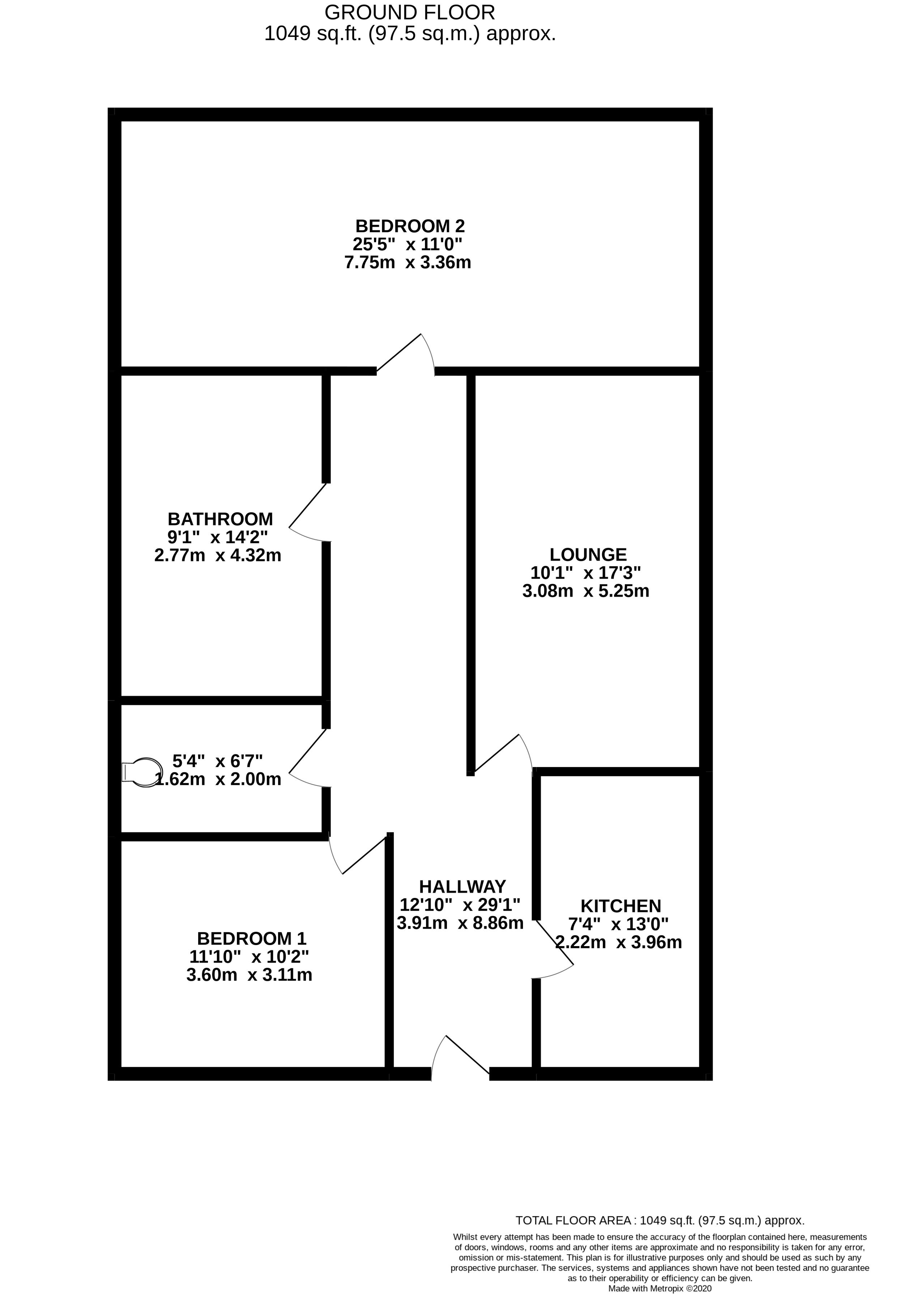 3 Norman Court, Hastings TN34 1JZ, 2 Bedrooms Bedrooms, ,1 BathroomBathrooms,Flat,For Rent,Norman Court,1086